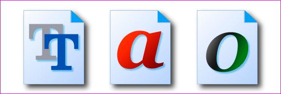 OpenType / TrueType