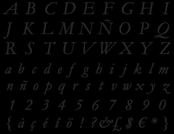 Adobe Garamond Italic