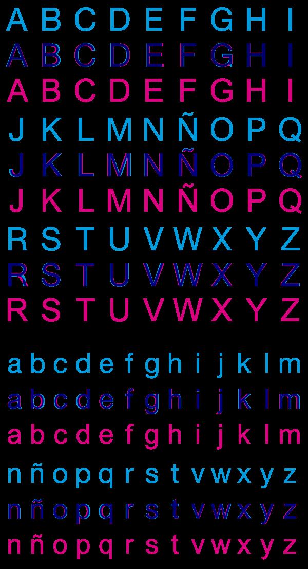 Helvetica y Arial (comparativa)