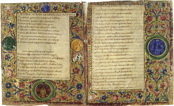 Caligrafía carolingio