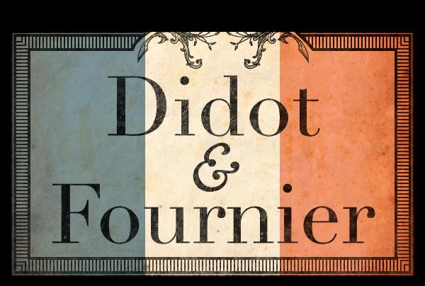 Didot & Fournier