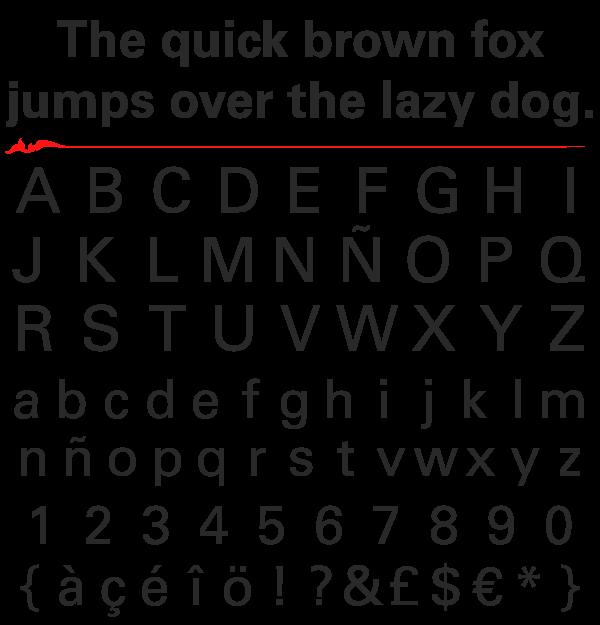 Univers Linotype (Adrian Frutiger)
